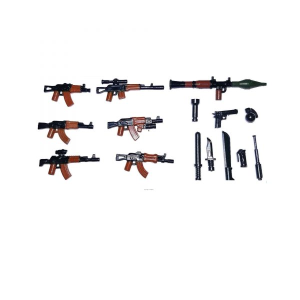 Lego Waffen für Minifiguren - Lego Sammelfiguren Shop