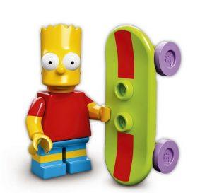 Lego Minifigures Simpsons Serie 1 Bart Simpson - Lego Sammelfiguren Shop Schweiz