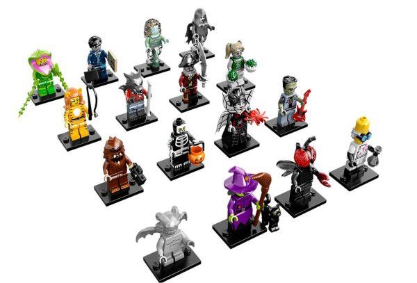 Lego Serie 14 Halloween Minifiguren Komplettes Set - Sammelfiguren Shop Schweiz