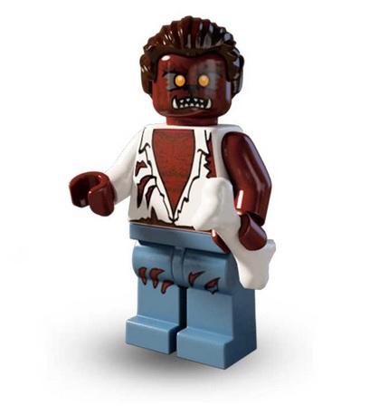 Lego Minifigures Serie 4 Werewolf - Lego Sammelfiguren Shop Schweiz