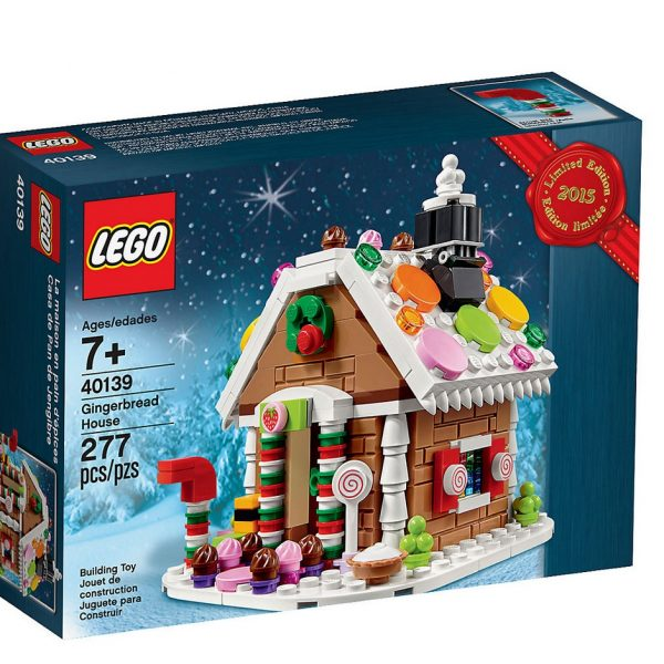 Lego Lebkuchenhaus 40139 Limited Edition - Sammelfiguren Shop