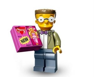lego smithers figur