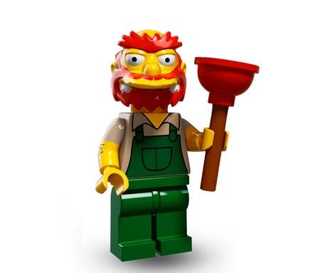 Lego Minifigures Simpsons Serie 2 Willie der Hausmeister - Lego Sammelfiguren Shop Schweiz
