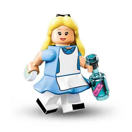 Lego Disney Sammelfiguren Alice im Wunderland