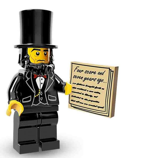 Lego Movie Minifiguren Abraham Lincoln