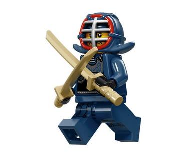 Lego Minifigures Serie 15 Kendo Kämpfer - Lego Sammelfiguren