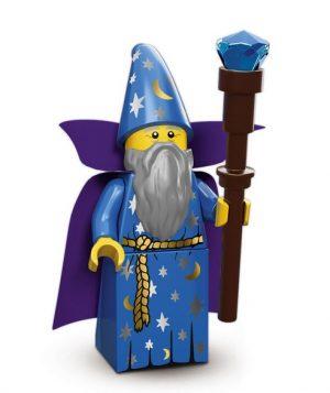 Lego Zauberer mit Zauberstab
