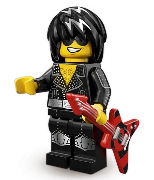 Lego Minifigures Serie 12 Rockstar Figur - Lego Sammelfiguren