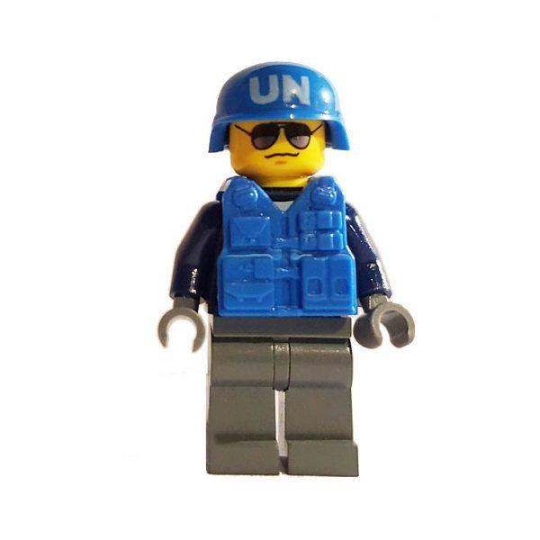 Lego UNO Soldat mit Ausrüstung
