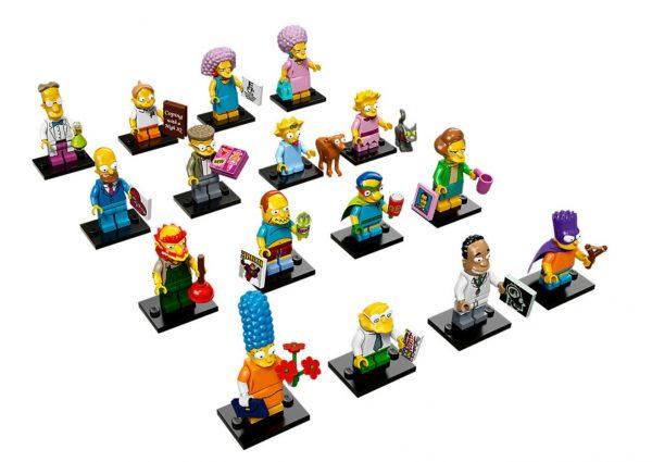 lego simpsons minifiguren 71009 - zweite Serie Simpsons figuren