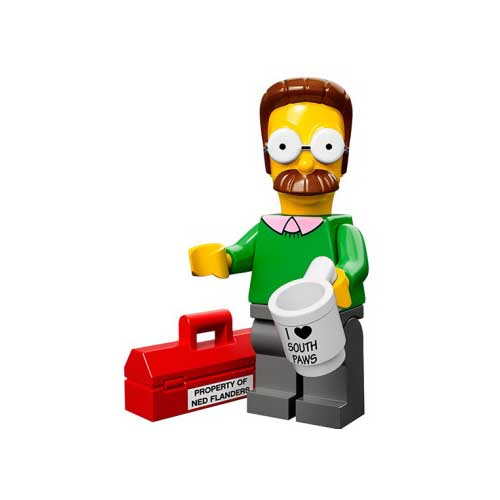 Lego Simpsons figuren ned flanders