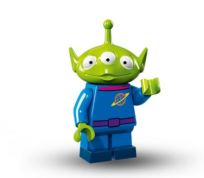 lego disney figur alien