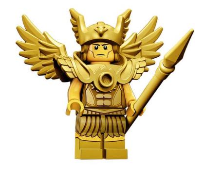 lego serie 15 fliegender krieger