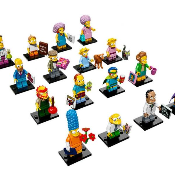 Lego Simpsons Figuren Serie 2 - Lego Simpsons Sammelfiguren Shop
