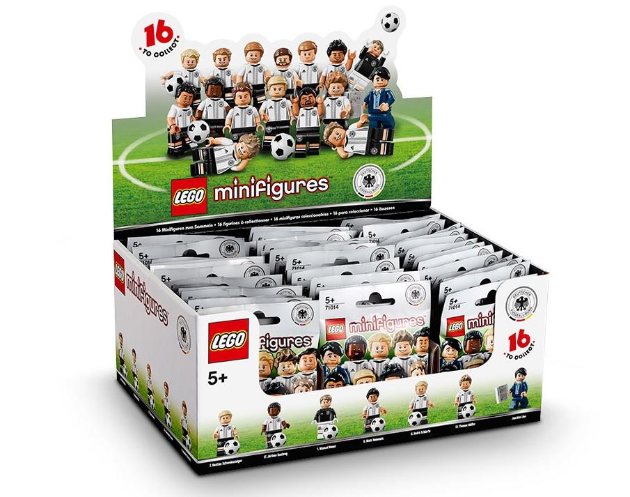 Lego Fussballer Figuren Die Mannschaft Minifigurenshop