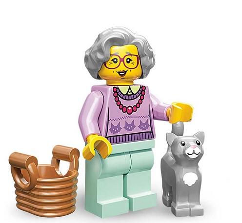 Lego Minifigures Serie 11 Grossmutter - Sammelfiguren Shop Schweiz