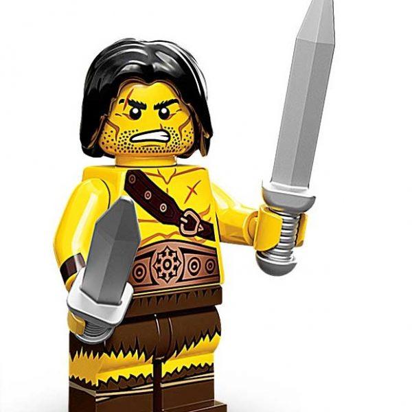 Lego Minifigures Serie 11 Barbar mit 2 Schwertern - Sammelfiguren Shop Schweiz