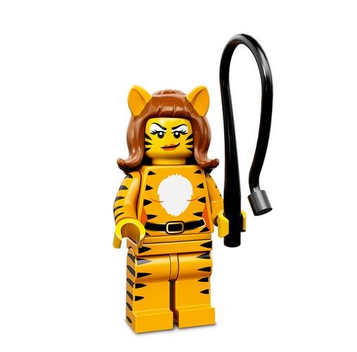 Lego Minifigures Serie 14 Tigerlady - Lego Sammelfiguren Shop Schweiz