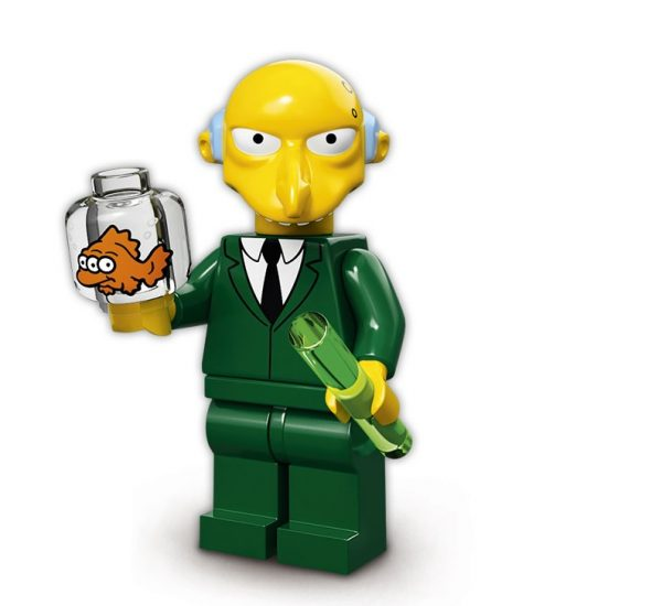 Lego Simpsons Serie 2 Mr. Burns Minifigur