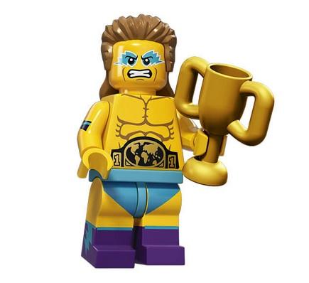 Lego Minifigures serie 15 wrestling champion - Lego Sammelfiguren Shop Schweiz