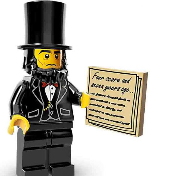Lego Movie Minifiguren Abraham Lincoln