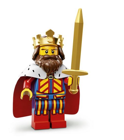 Lego Minifigures Serie 13 König Figur - Lego Sammelfiguren