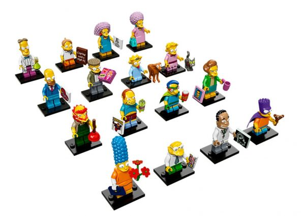 lego simpsons minifiguren 71009 - zweite Serie Simpsons figuren
