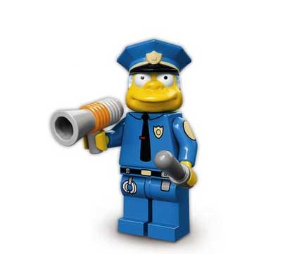 Lego Minifigures Chief Wiggum