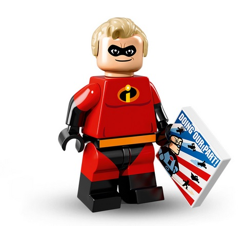 Lego Disney Minifigur Mr. Incredible