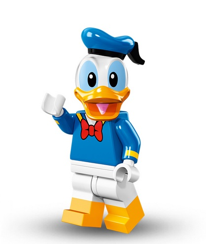 lego disney minifigur donald duck