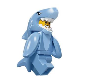 Lego Minifigures Serie 15 Hai-Kostüm Mann