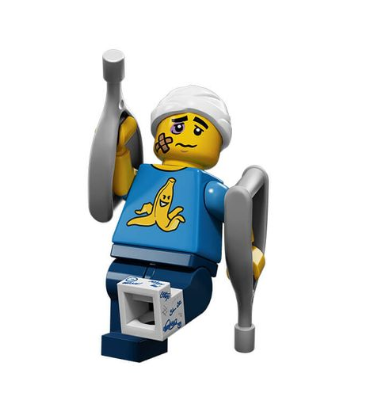 Lego Minifigures Serie 15 Tollpatsch