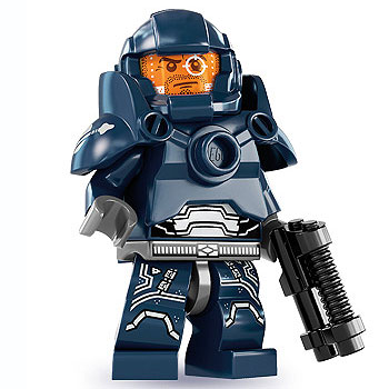 lego minifigures serie 7 galaxy wächter