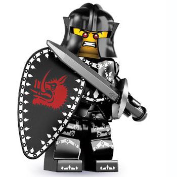 lego minifigures serie 7 schwarzer ritter