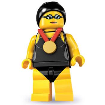 lego minifigures serie 7 schwimmerin