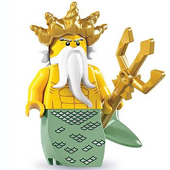 lego serie 7 ozean minifigures könig